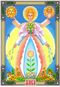 Bohyňa ŽIVA - patrónka matiek a žien