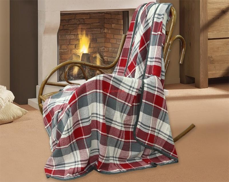 ľanová deka