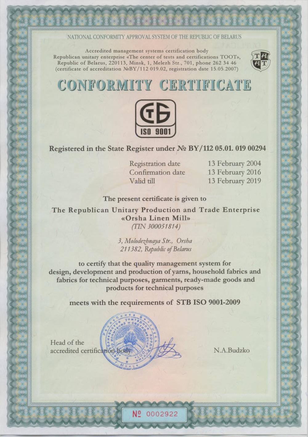 Ľanové produkty_slovienka.sk certifikat CE