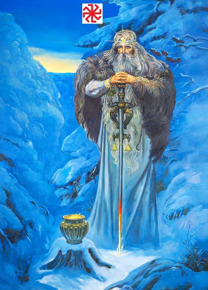 Sviatok na počesť Koljadu - Boha zimného Slnka