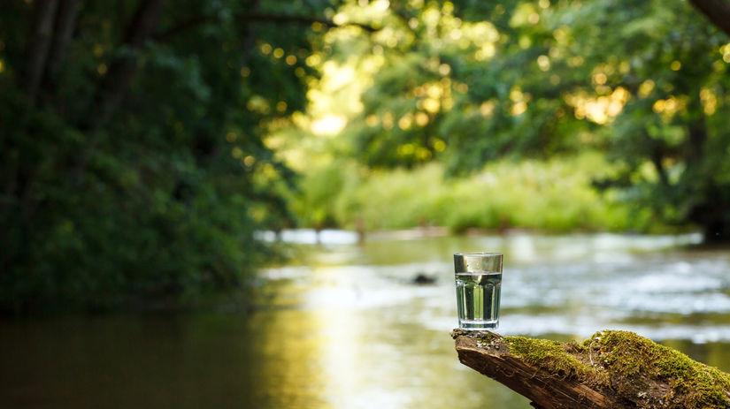 pohar vody - pramenita voda - slovienka.sk