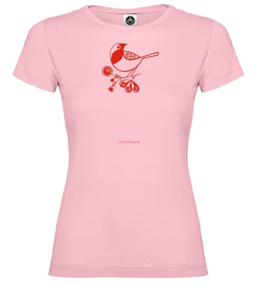 Dievča-biele-ružové-Sýkorka-vtáčik-14-cm-slovienka.sk