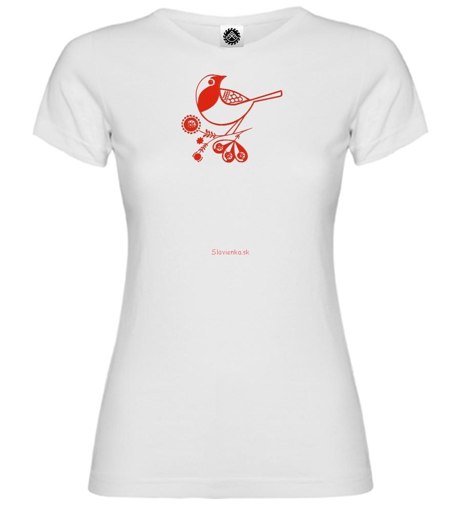 Dievča-biele-tričko-Sýkorka-vtáčik-14-cm-slovienka.sk
