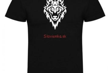 vysivane-tricko-cierne-VLK-biely-slovienka.sk