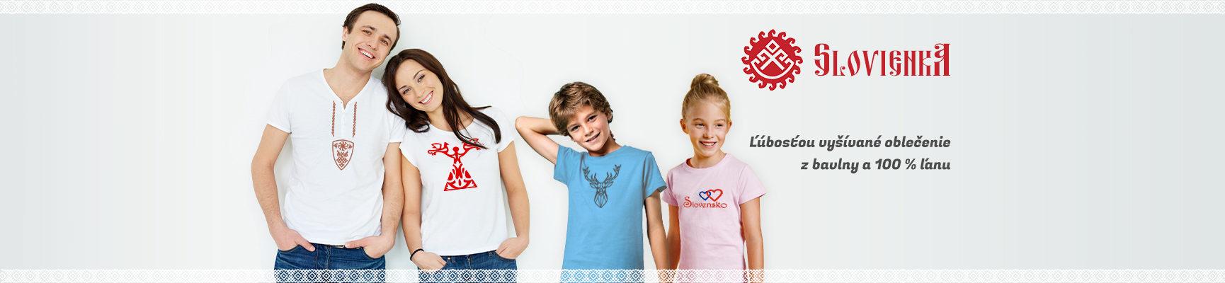 slovienka.sk. vyšívané tričká pre veľkých aj malých